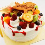 クローバー クローバー - 生クリームSPデコレーションケーキ