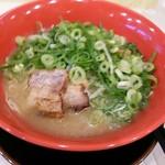 市川商店 - 廣島醤油豚骨らぁ麺 680円+ねぎトッピ +100円