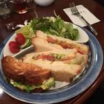 52207760 - ツナ野菜サンド