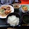 レストラン フロイデ - 料理写真:ランチ「ポーク生姜焼き定食 950円」