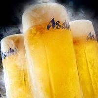 毎日毎日18時迄生ビール半額!!