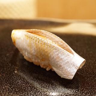 日本橋蛎殻町 すぎた - 料理写真:日本一の小鰭