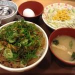 すき家  - 料理写真: