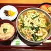 田ごと - 料理写真:きつねうどん セット 2016.6