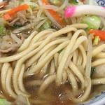 水明亭 - 麺