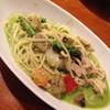 ナポリの食卓 - 料理写真:チキンと夏野菜のクリーミーグリーンカレー