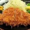 とんかつ稲 - 料理写真:ロース厚切り