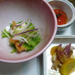 光風館・石亭 - 料理写真:まずは前菜から