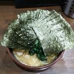 はねだ家 - 料理写真:ラーメン650円麺硬め。海苔増し100円。