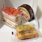 スーリィ・ラ・セーヌ - 苺のケーキ・シャンプルノア・洋梨ケーキ