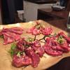 炭火焼肉ホルモンしま田 - 料理写真:160614 牛肉盛合せ