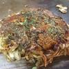 万味 - 料理写真: 美味い!やっぱり長田界隈のモダン焼の女王。特にドロソースの風味と辛さがやめられない。
