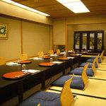 松風 - 最大20名様までお部屋です。同窓会や、法要後の会食にも最適です。