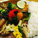 プーさん - 野菜チキンカレー
