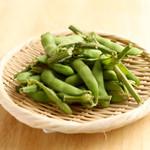 キリン一番搾りガーデン - スタウト茹で枝豆