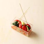 キリン一番搾りガーデン - ズッキーニとプチフルーツトマト〜マルドンの塩で〜