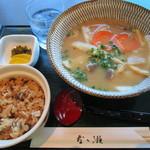 なゝ瀬 - だんご汁定食 900円