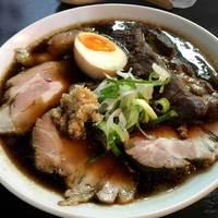 麺将 重厚軍団 - 料理写真:重厚醤油そば 肉多め