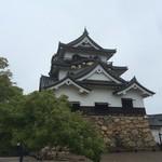 彦根みやげ本陣 - その他写真:彦根城の天守