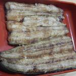 寿司処 江戸金 - 鰻白焼き