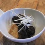カフェ&イン 吉里吉里 - 赤出汁を使用した肉味噌