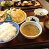 與五郎 - 料理写真:今回いただいた、「キス天ぷら定食」です(2016.6.16)