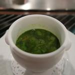 52335856 - 本日のスープ(温かい野菜のスープ)