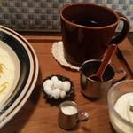 cafe zakka  hinatabocco - セットの珈琲