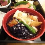 魚こばやし - 茄子の煮びたし