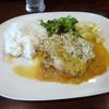 ユキオントコ - 料理写真:「若鶏の香草パン粉焼き」780円