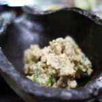 高城庵 - 豆腐の白和え(高城庵セット)