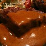 義 - 黒毛和牛ステーキ アップ