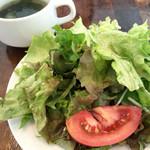 コンシールカフェ・サクラガオカ - サラダとスープ