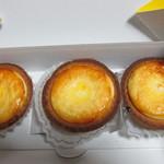 ベイク チーズ タルト - チーズタルト3個