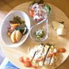 菜 - 料理写真:一汁五菜ランチセット¥1150