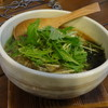 らーめん心志道 - 料理写真:かすらーめん醤油730円(税込)
