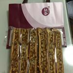 鎌倉紅谷 - 料理写真:クルミっ子切り落とし 税込1296円