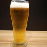 ユトリ - 生ビール(450円)