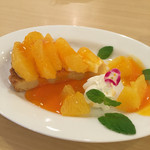ハイティー - 生タルト・オレンジ