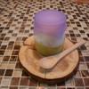 ラ・リサータ - 料理写真:アミューズ えんどう豆とモッツアレラチーズ
