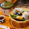 茶処 あ・そこ - 料理写真:メニューは一つ一つ説明してくださいます。