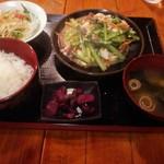 沖縄料理 舞天 - 青菜チャンプル定食