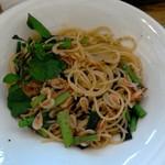 ラーゴアラーゴ - 料理写真:小えびいりペペロンチーノ