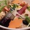 くずし割烹 厨 KURIYA - 料理写真:25種類の雑穀米を使った、いろどり野菜のどんぶり