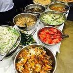 中華菜館 水蓮月 - 充実のサラダバー