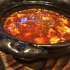 道 - 料理写真:麻婆豆腐。山椒の使い方がうまい。値段はうーん。