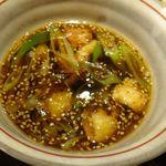 さとう - かしわせいろ。蕎麦切り さとう (安城市)食彩品館.jp撮影