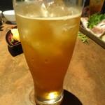 京町個室居酒屋 魚御殿 - 紅茶ジンジャー