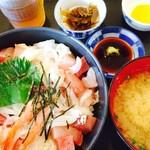 かねまつ - 海鮮丼 [大] 定食