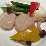 52434823 - ホタテ貝と野菜の炒め